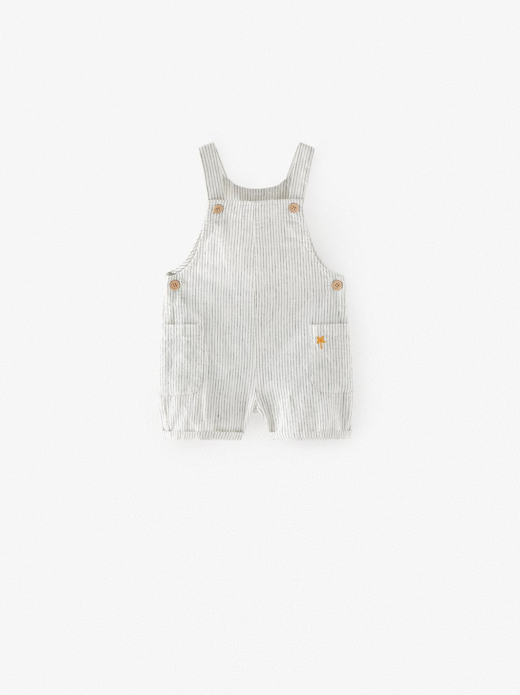 Baby Boys' Fashion | ZARA Ireland in 2020 | Overall shorts ...