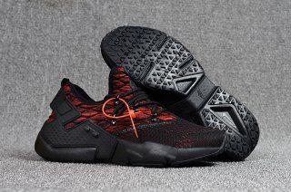 3ac5b2c0ef10a New 2018 NIke Air Huarache Drift PRM Flyknit Men s Running Sports Shoes  Black   Red