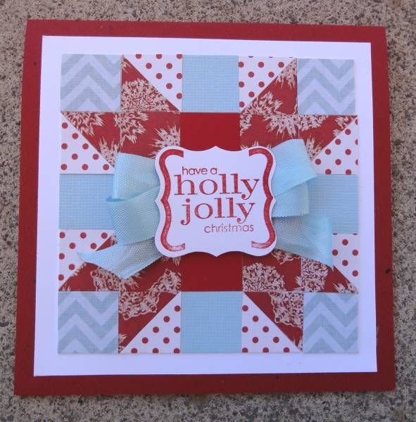 Quilted Christmas Card By Alicaz Cards And Paper Crafts At
