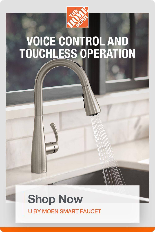 smart faucet kitchen faucet
