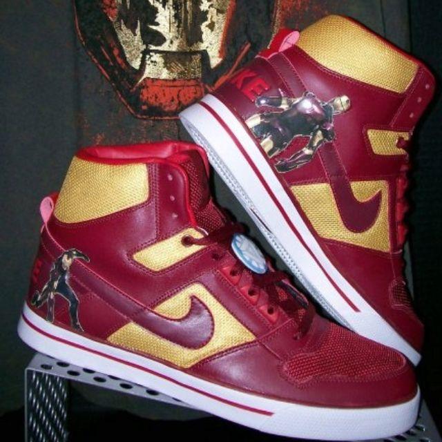 Iron Man Nike Dunks. | Nike dunks, Nike