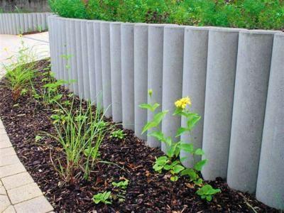 Palisada Ogrodowa Betonowa Szara 20x100 Cm 5719022951 Oficjalne Archiwum Allegro Plants Garden