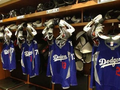 on sale fe8e7 dfad1 The Kings Sold Those Awesome Dodgers Themed Warm-Up Jerseys ...