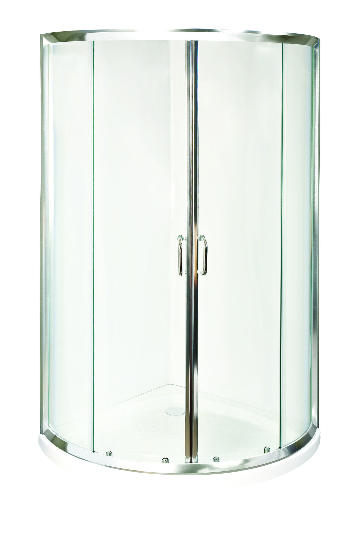 Shower Cubicle Spacia Curved W/base S/scrn 1000x1000mm - Bunnings ...