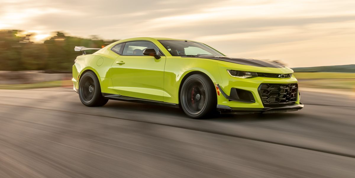 Photos Of The 2019 Chevrolet Camaro Zl1 1le At Lightning Lap