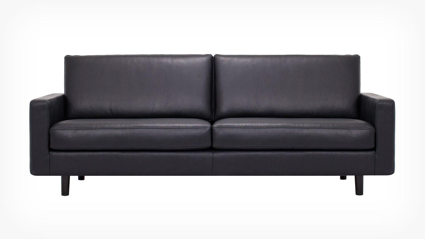 Oskar Sofa Eq3 Leather Sofa Sofa Custom Upholstery