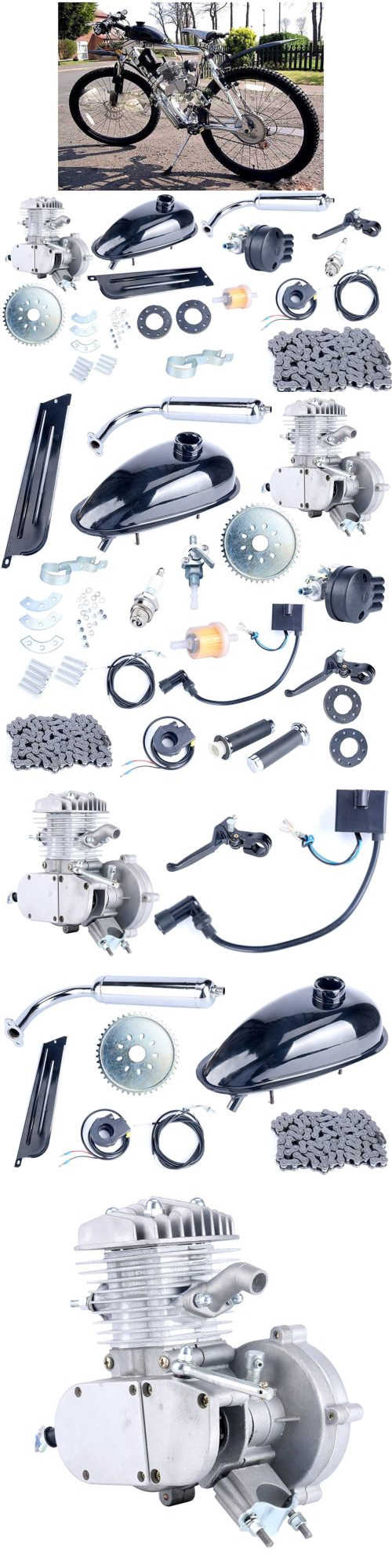 Parts And Accessories 11332 Silver 80cc Bike Bicycle Motorized 2 Battery Charger Wiring Harness Razor Izip Pocket Bikes Chopper Ebay Cycle Motor Petrol Gas