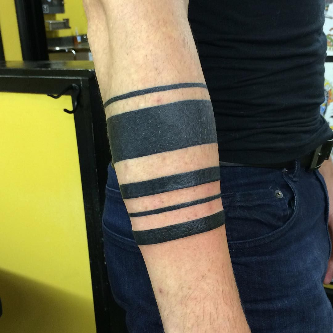 Arm Tattoo Bands: 95+ Significant Armband Tattoos