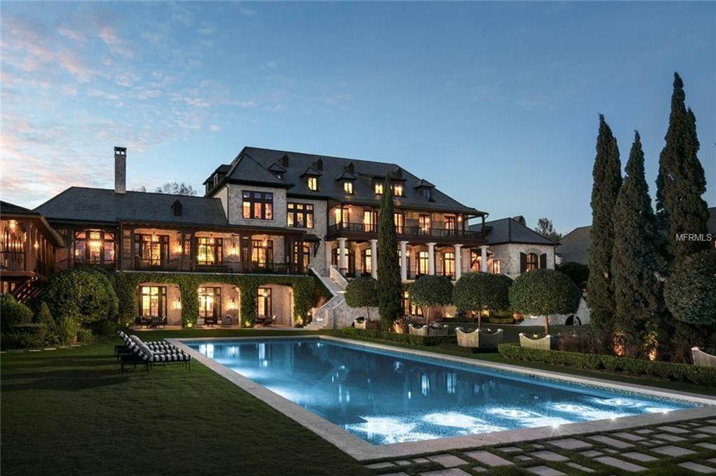 42 000 Square Foot Majestic Florida Mansion Lands On Market For