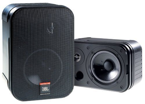 Jbl Control 1 Pro Loudspeaker Two Way 50 Watt 5 25 Inch Driver With 75 Inch Tweeter Spring Loaded Terminals Black Priced And S Studio Monitors Transducer Jbl
