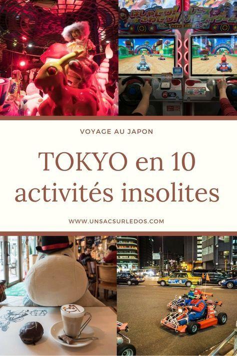 Tokyo en 10 activités insolites typiques
