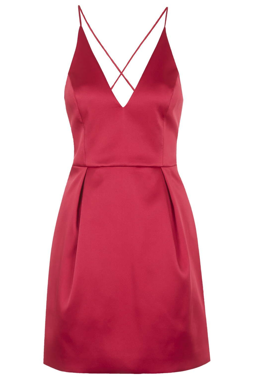 Charting: 10 Red Dresses For Date Night | Topshop dresses, Topshop ...