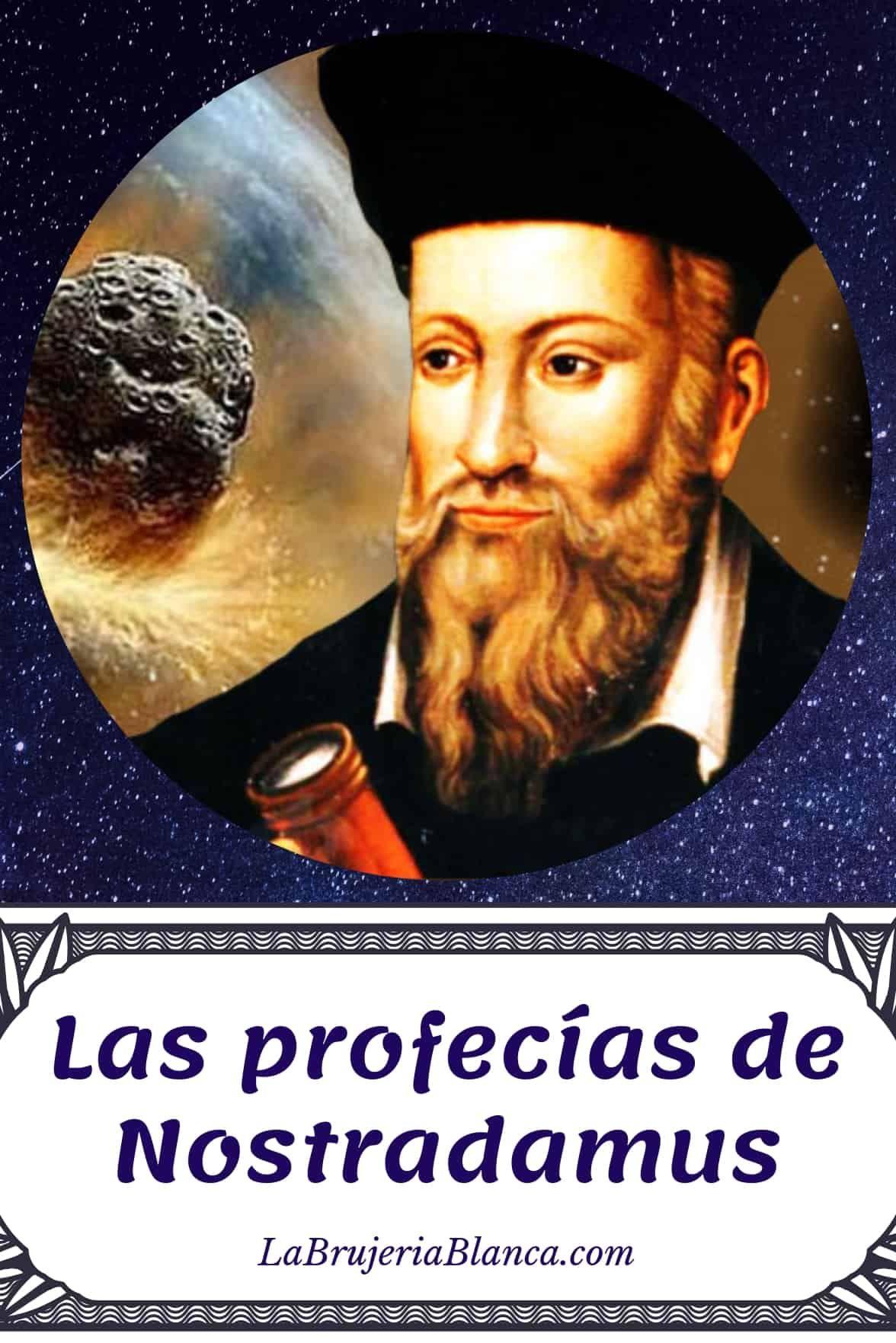 Las Profecías De Nostradamus Spiritual Manifestation Tarot Spirit World