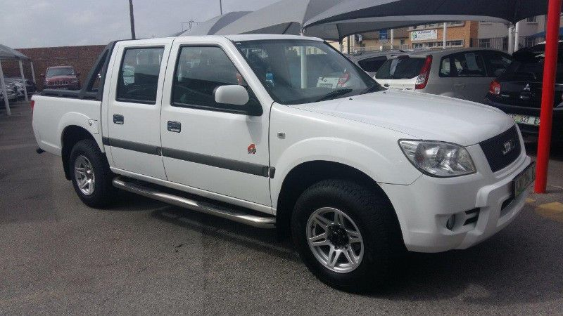 2014 Jmc 2 8 Turbo Diesel 4x4 Double Cab Finished In Ice White With Full Black Leather Interior And Only 63000km On The Clo Buy And Sell Cars Cars For Sale Cab