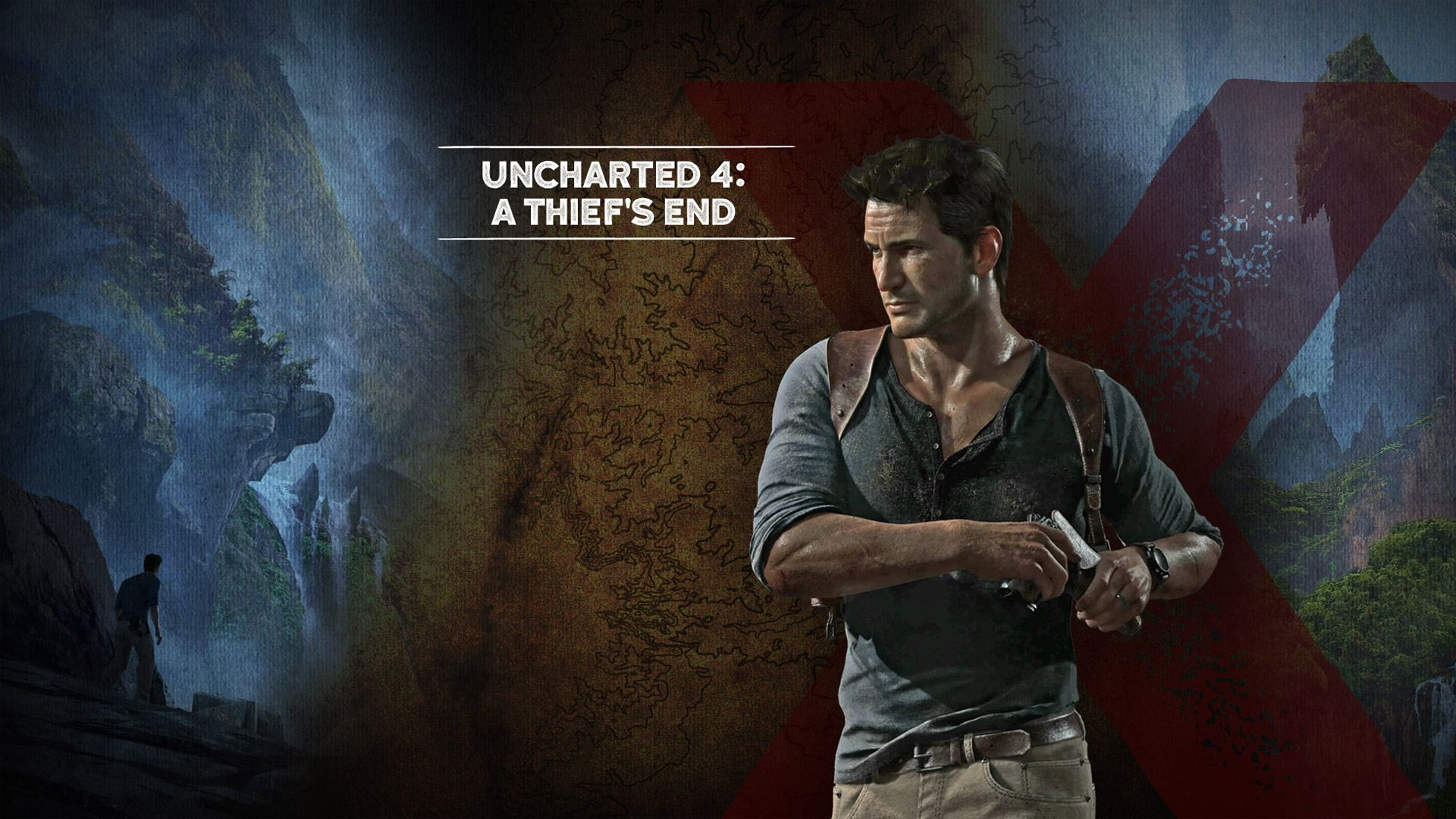 uncharted 4: a thief's end | uncharted 4 a thief . end hd wallpapers