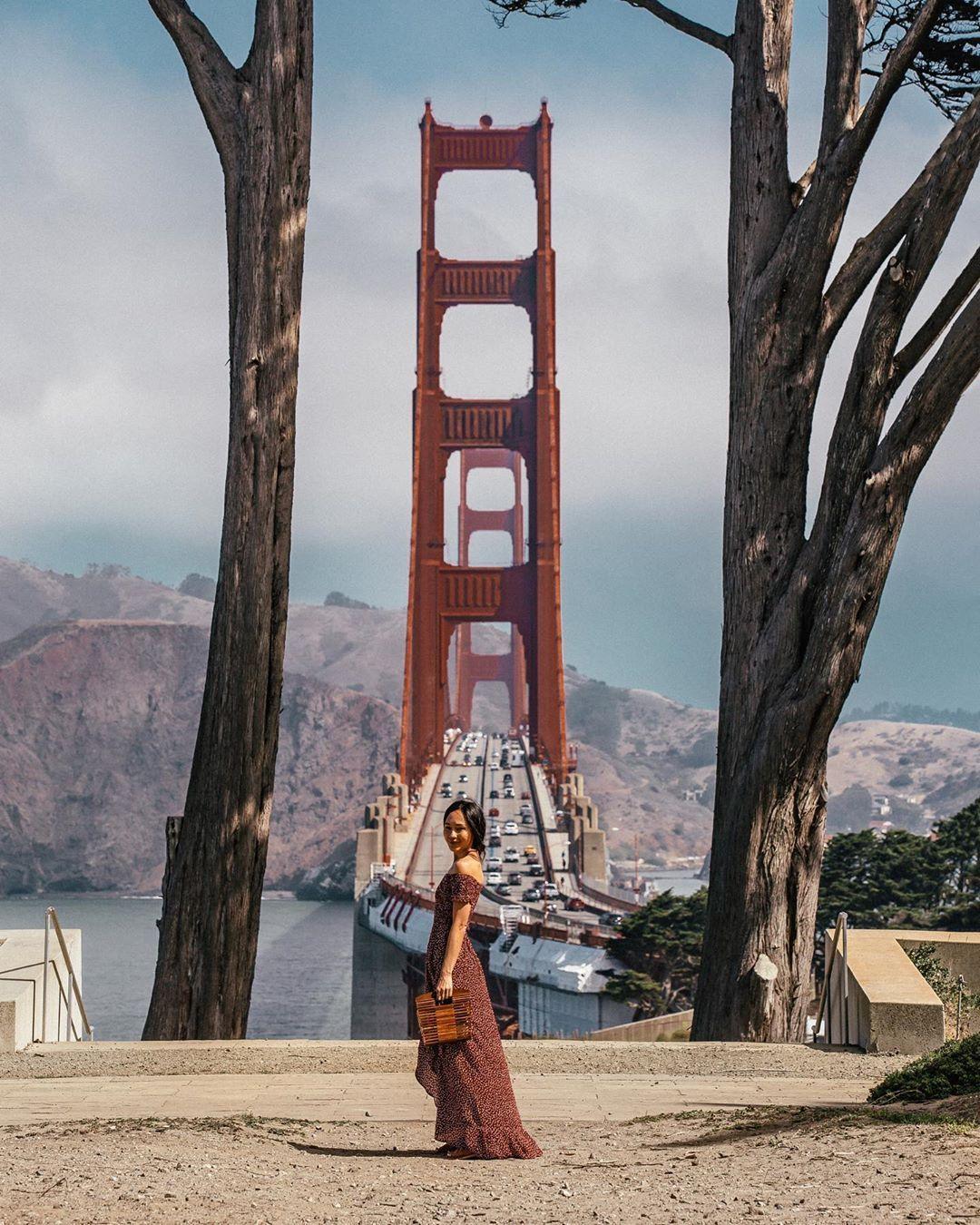 Golden Gate Overlook San Francisco California In 2020 Golden Gate Bridge Golden Gate Photo Location