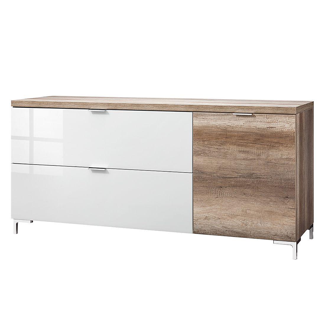 Sideboard Cleo II   Wildeiche Dekor/Weißglas Front, Cs Schmal Möbel,  Wohnzimmer, Kommoden U0026 Sideboards, Cs Schmal Jetzt Bestellen Unter: ...