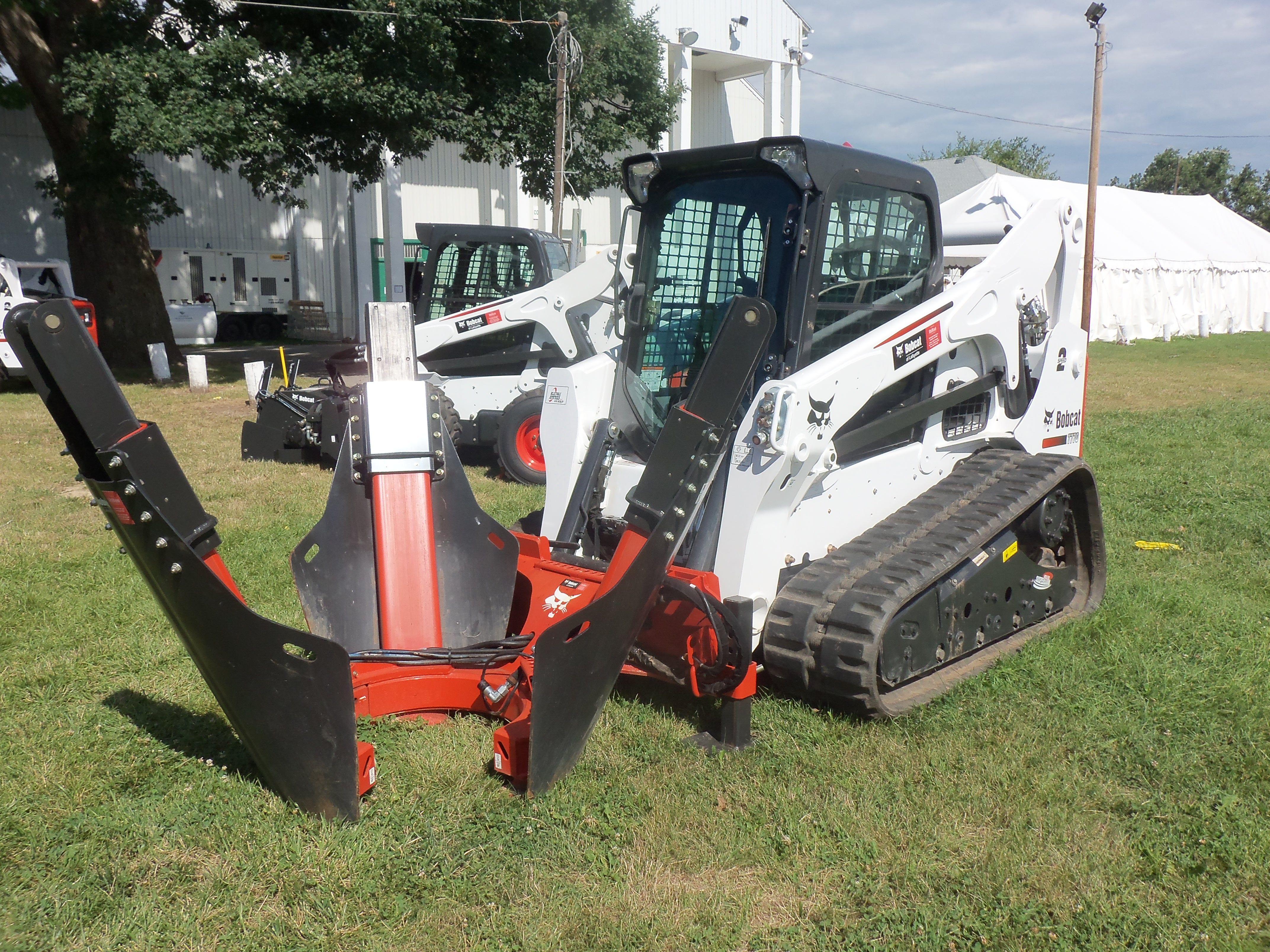 Bobcat T770 Compact Track Loader Construction Equipment