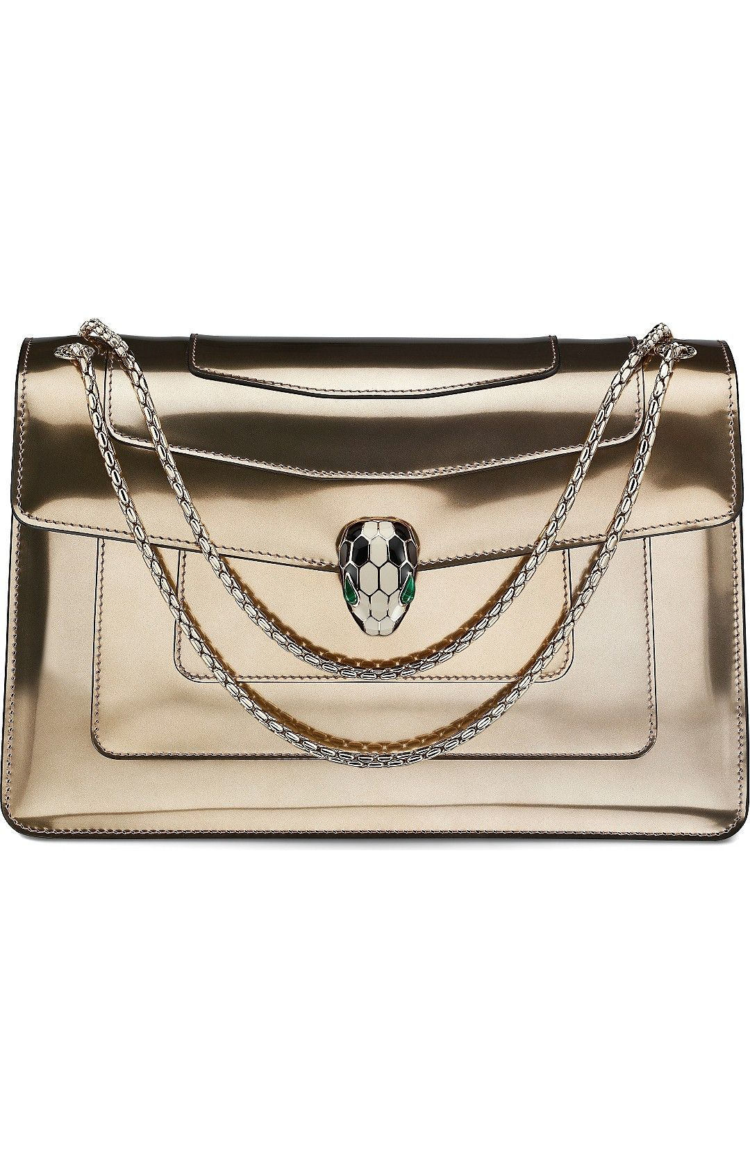 Serpenti forever leather shoulder bag leather shoulder bags