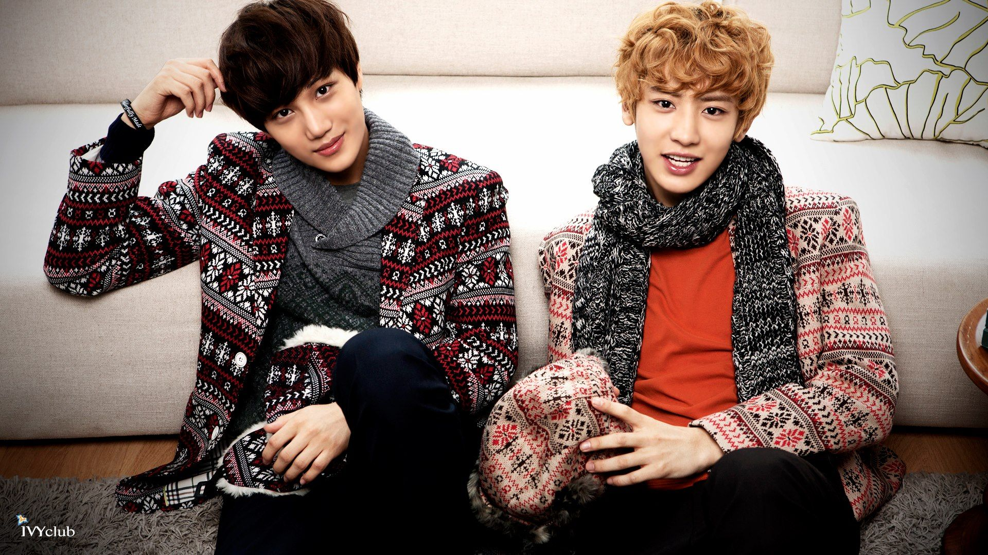 EXO TOWN: EXO-K Ivy Club Official Site Update: Kai and Chanyeol
