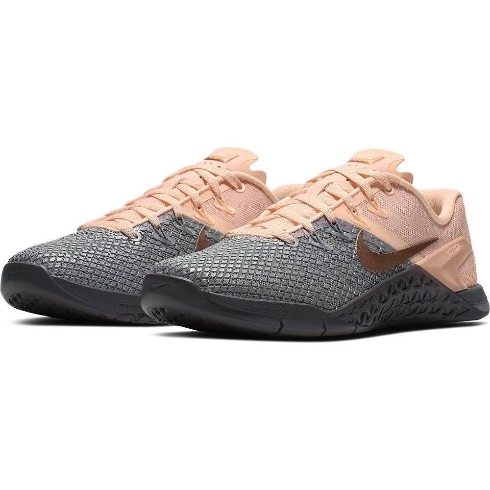Nike Metcon 4 XD MTLC - Women's - Gray | Rogue Fitness | Cross