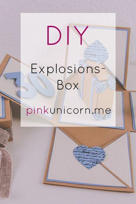 DIY Explosionsbox Reisen Auf meinem Blog pinkunicorn.me findet ihr eine detaillierte Schritt für Schritt Anleitung zu dieser Explosionsbox. Sie eignet sich super als Geschenk für eine Reise oder ein Städtetrip. #giftsforcoworkers