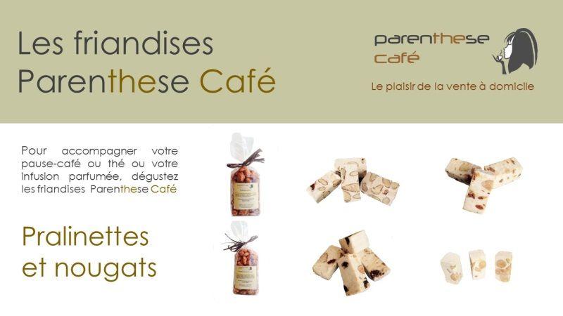 18aba99a3f0131 La gamme de friandises Parenthese Café s étoffe pour le plaisir de la vente  à domicile !