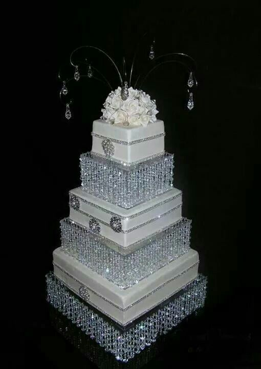 WOW The Fanciest Wedding Cake Stand Ive Seen