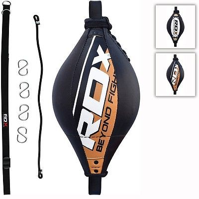 Floor to Ceiling Leather Double End Dodge Speed Ball MMA UFC Boxing Punch Bag