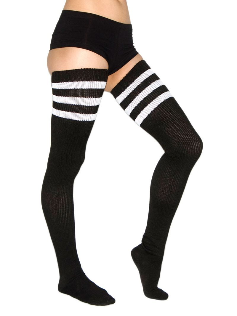 33a92d00ff674 This is how Blogger, Caylee of If You Seek Style, wore a pair of thigh high  socks. Description from rhiannasstudio.com. I searched for this on  bing.com/ ...