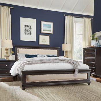 Johanna 4-piece King Bedroom Set | Waterside | Pinterest | King ...