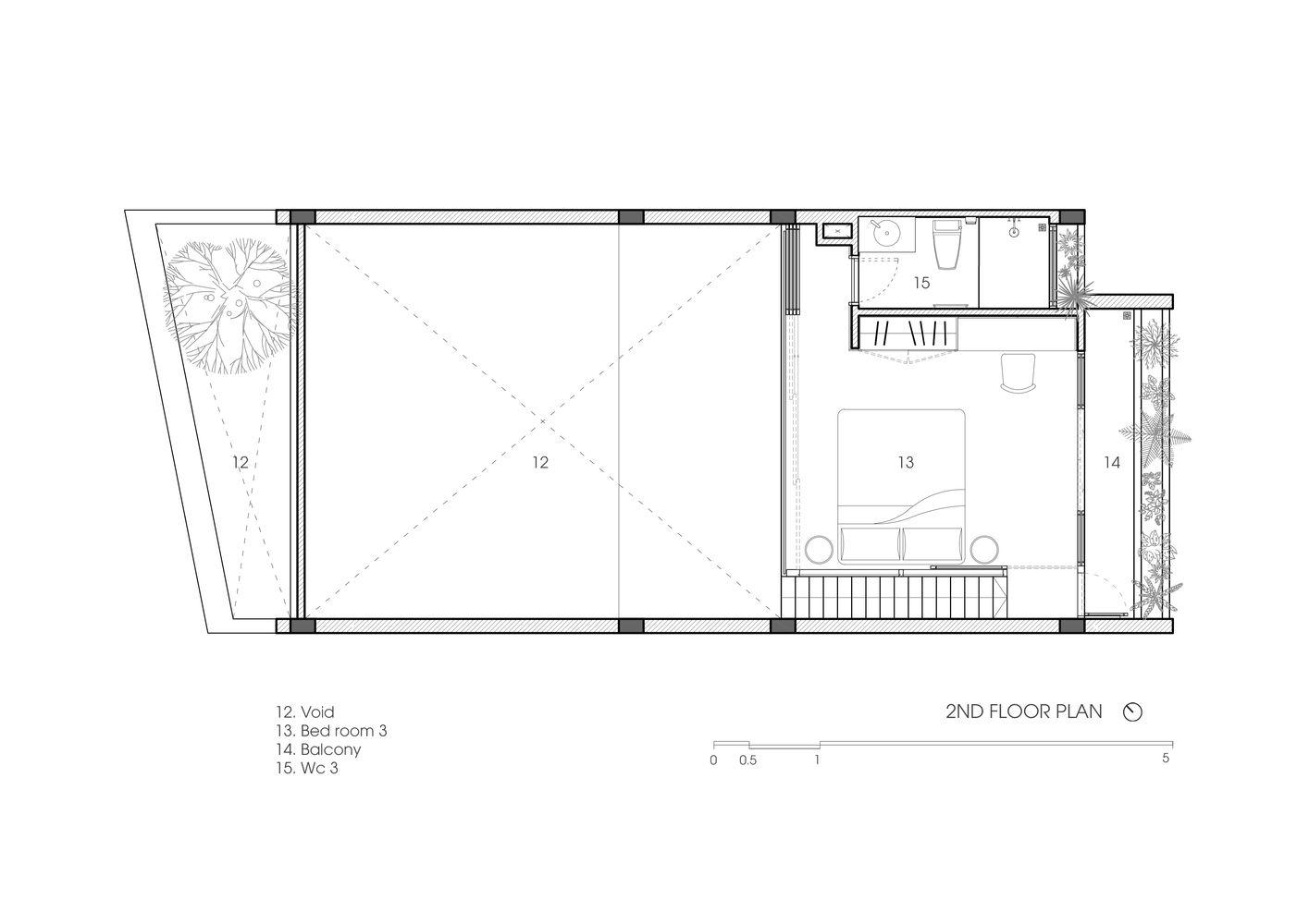 Gallery Of Bin Bon House H A 25 In 2020 House Design Floor Plans House