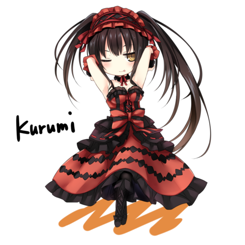 Image about anime in Date a live by Kurome on We Heart It