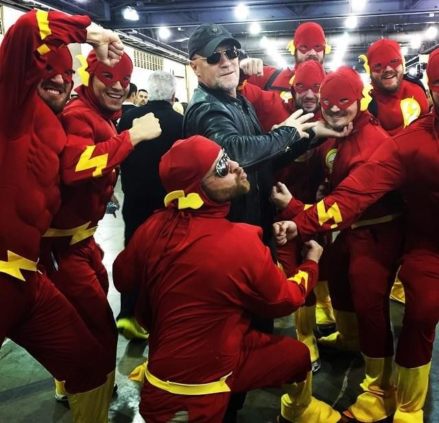 Rooker gets flashed in Philly: