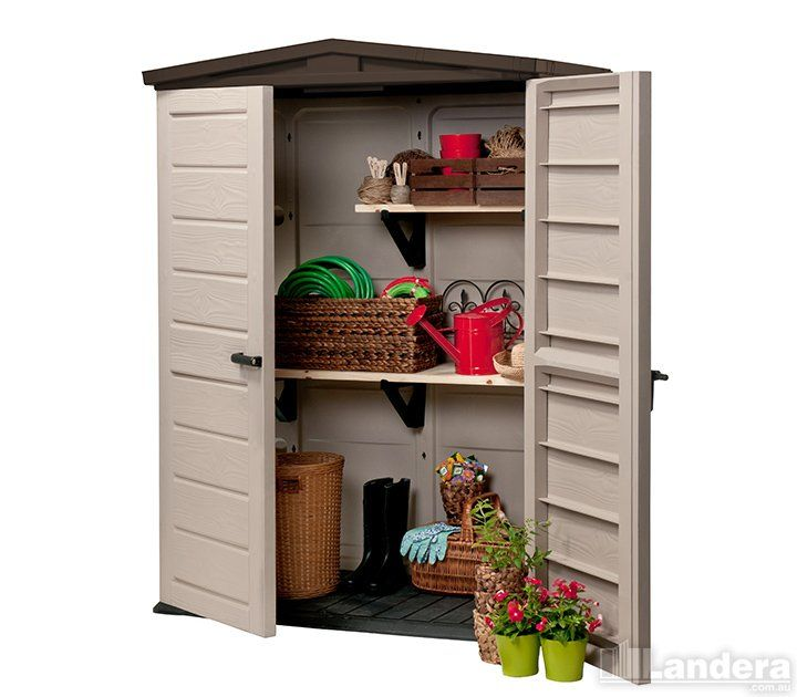 keter woodland high shed - Garden Sheds Vic