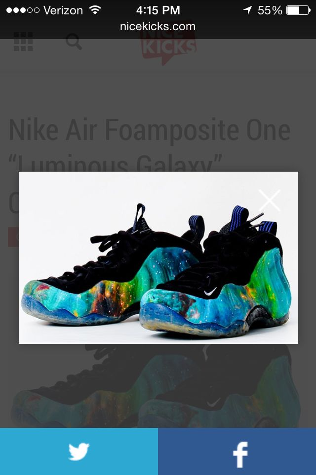 Lumonous galaxy foamposites.