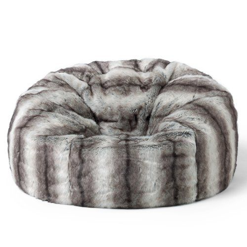 Astonishing Rosdorf Park Faux Fur Bean Bag Chair In 2019 Products Squirreltailoven Fun Painted Chair Ideas Images Squirreltailovenorg