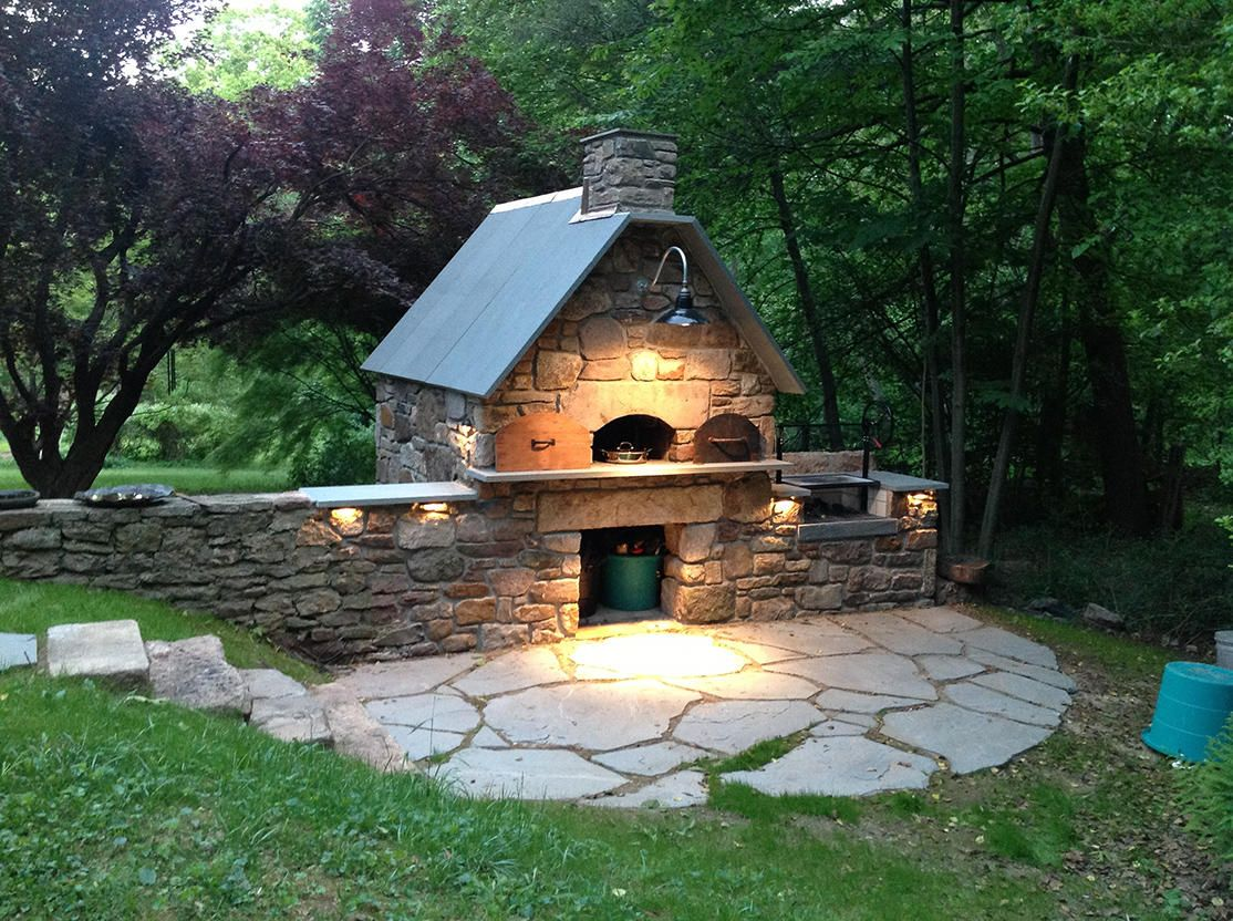 Natale Masonry Outdoor Brick Oven Argentinian Grill Hertz And Dunn Masonry