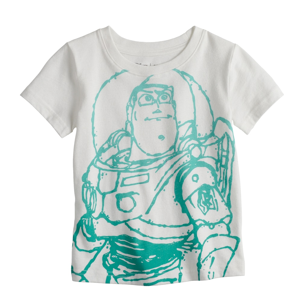 7e08d1900 Disney / Pixar Toy Story Toddler Boy Buzz Lightyear Graphic Tee by Jumping  Beans®, Size: 2T, White
