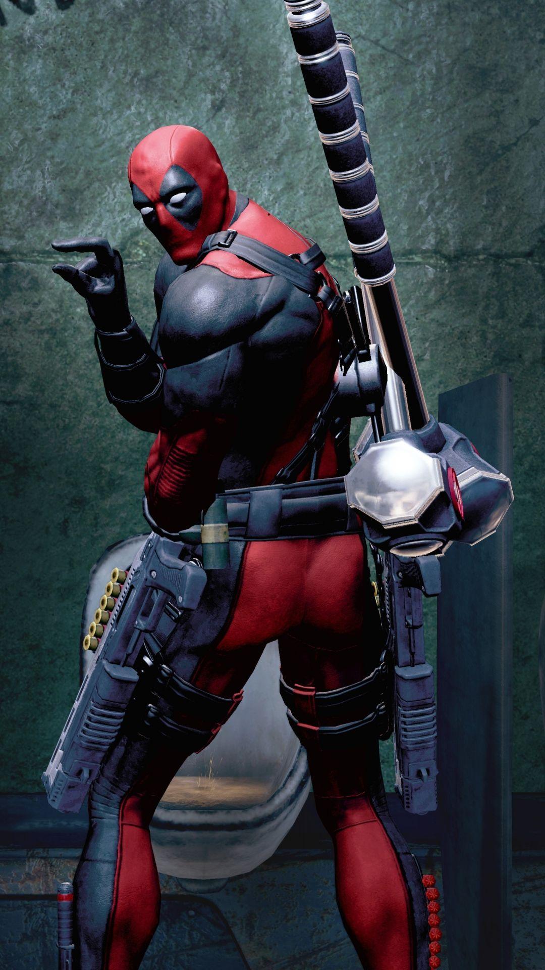Deadpool Fan Art In Deadpools Game By Wallpaper