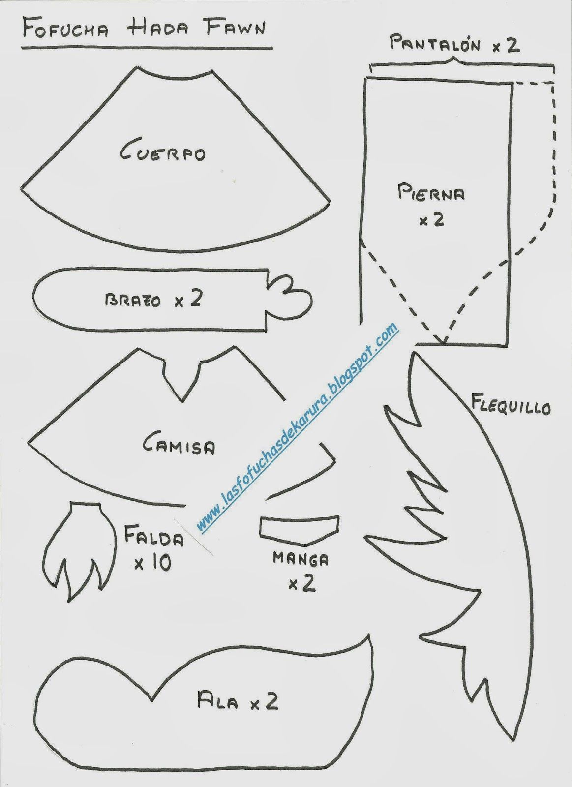Las Fofuchas de Karura: Moldes Fofuchas Princesas Disney | moldes ...