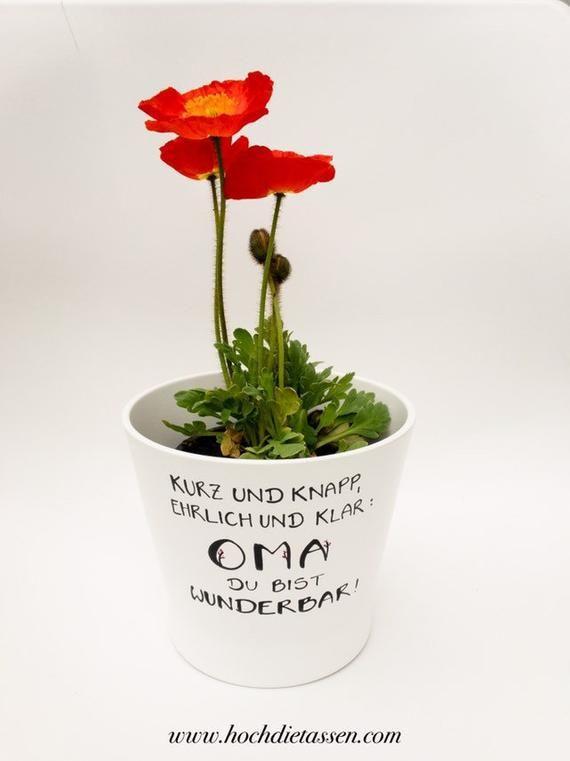 Gift Grandma, Gift Mom, Flower Pot, Flower Pot Scrub, Grandma Is Wonderful, Bouquet, Flowers Gift