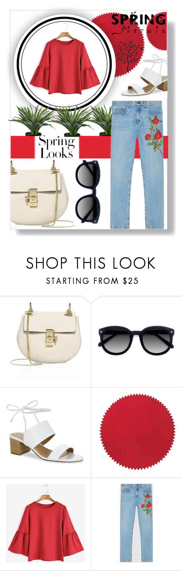 """#18"" by carolin-wm ❤ liked on Polyvore featuring Chloé, Ace, H&M, Tahari, nanimarquina, Gucci and Godinger"