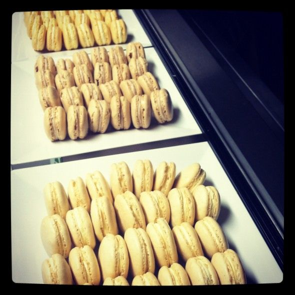 Ginger Lemon And Chocolate Macarons From The Food Truck To