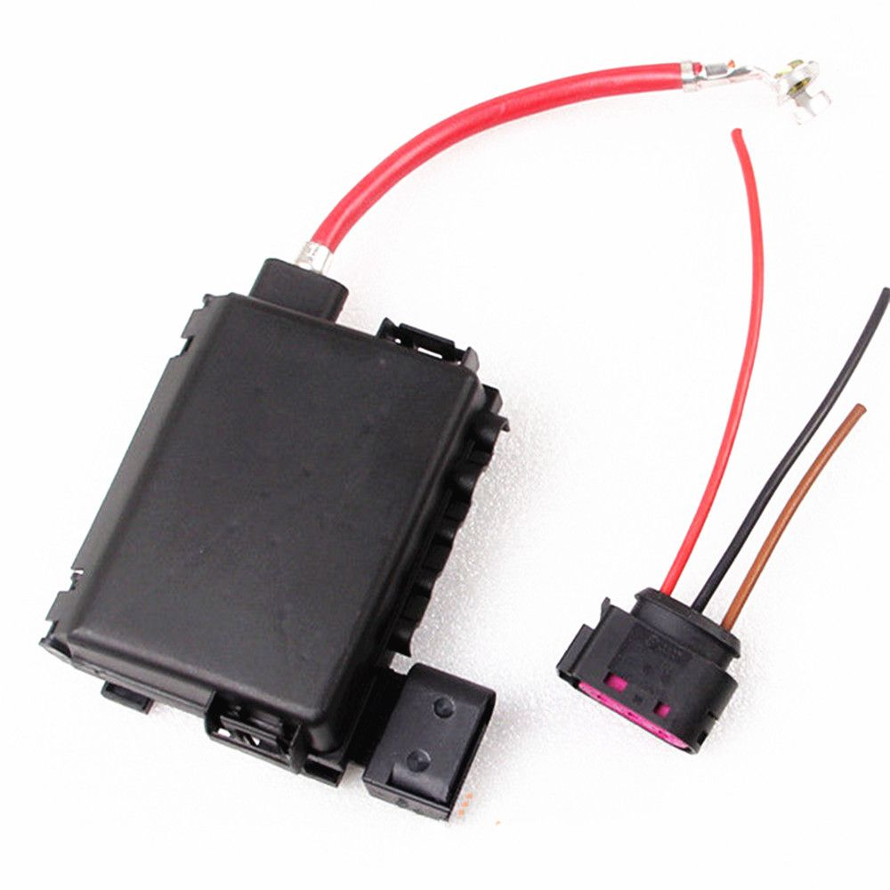 hight resolution of vw jetta bora golf mk4 beetle octavia seat leon toledo oem battery fuse box assembly