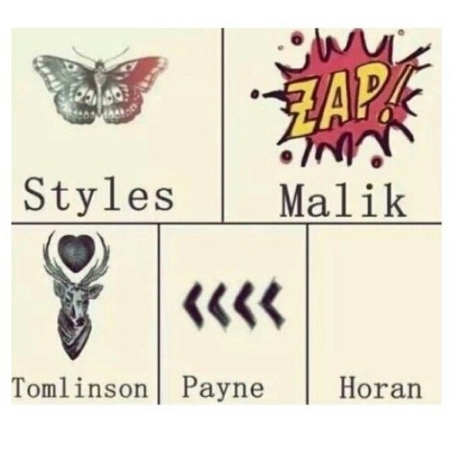 how many tattoos do one direction have 2015 one direction