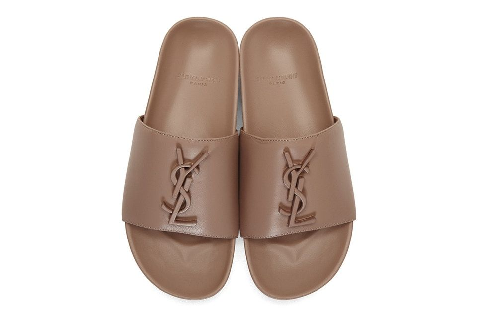 5a032a4b1 Saint Laurent s Joan Slides Will Put You in a Nude Mood in 2019 ...
