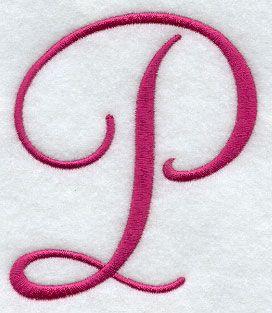 Fancy Letter P