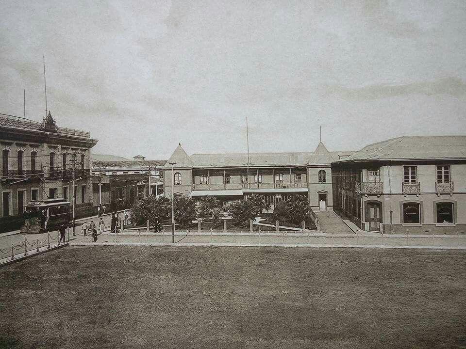 Resultado de imagen para fotos antiguas, hotel frances san jose, costa rica