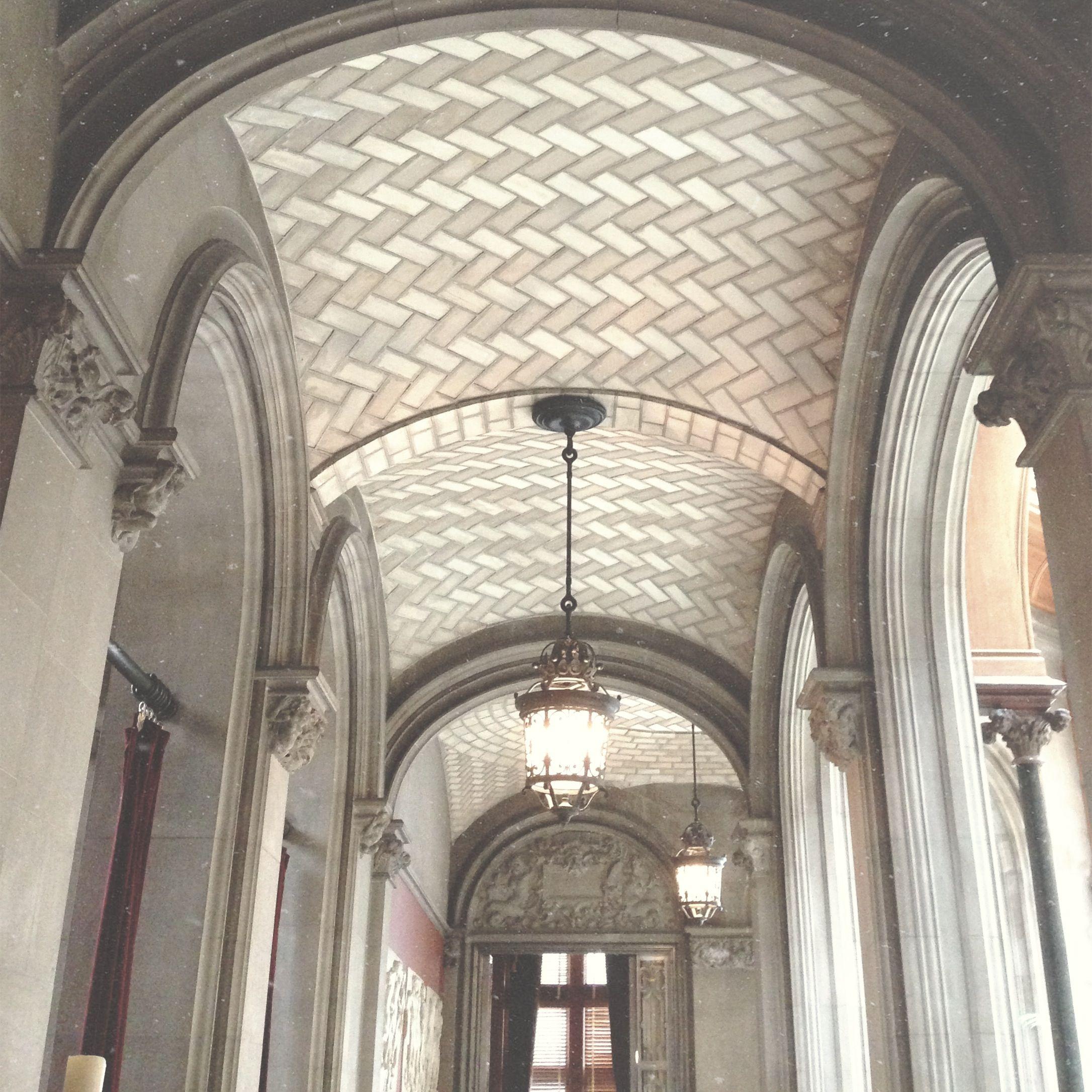 Biltmore Estate - Tile Work Ceilings Of